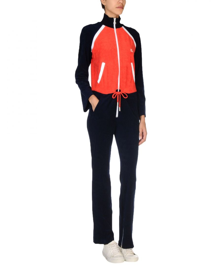 Image for Off-White Red Cotton Jumpsuit