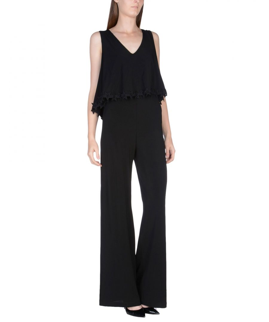 Image for Pf Paola Frani Black Jumpsuit
