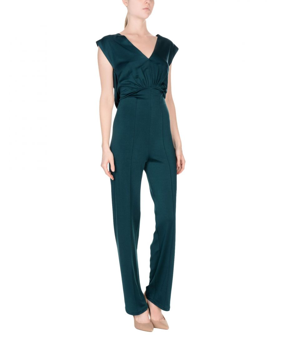 Image for Vionnet Deep Jade Jumpsuit