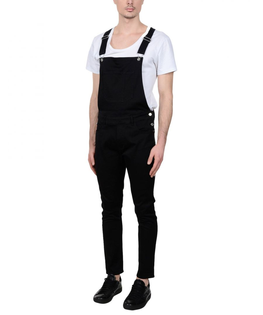 Image for Edwin Black Cotton Dungarees