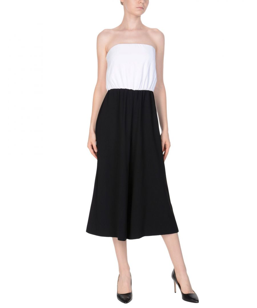 Image for Alice + Olivia Black Colourblock Jumpsuit