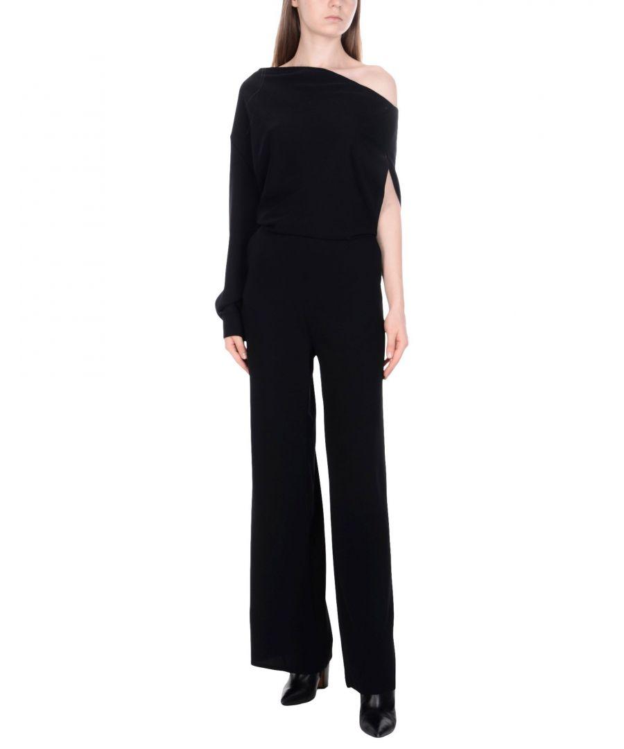 Image for Maison Margiela Black One Shoulder Jumpsuit