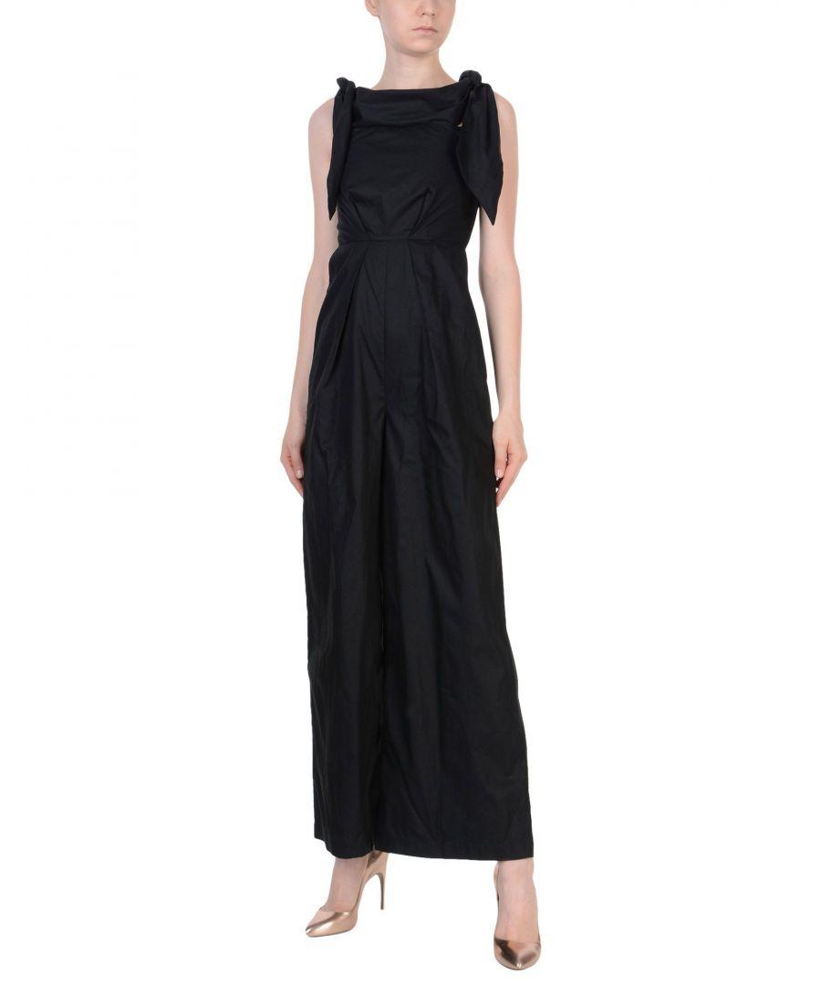 Image for Paper London Black Cotton Jumpsuit