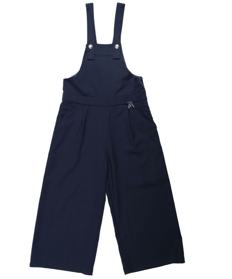 Image for DUNGAREES Girl Patrizia Pepe Dark blue Polyester