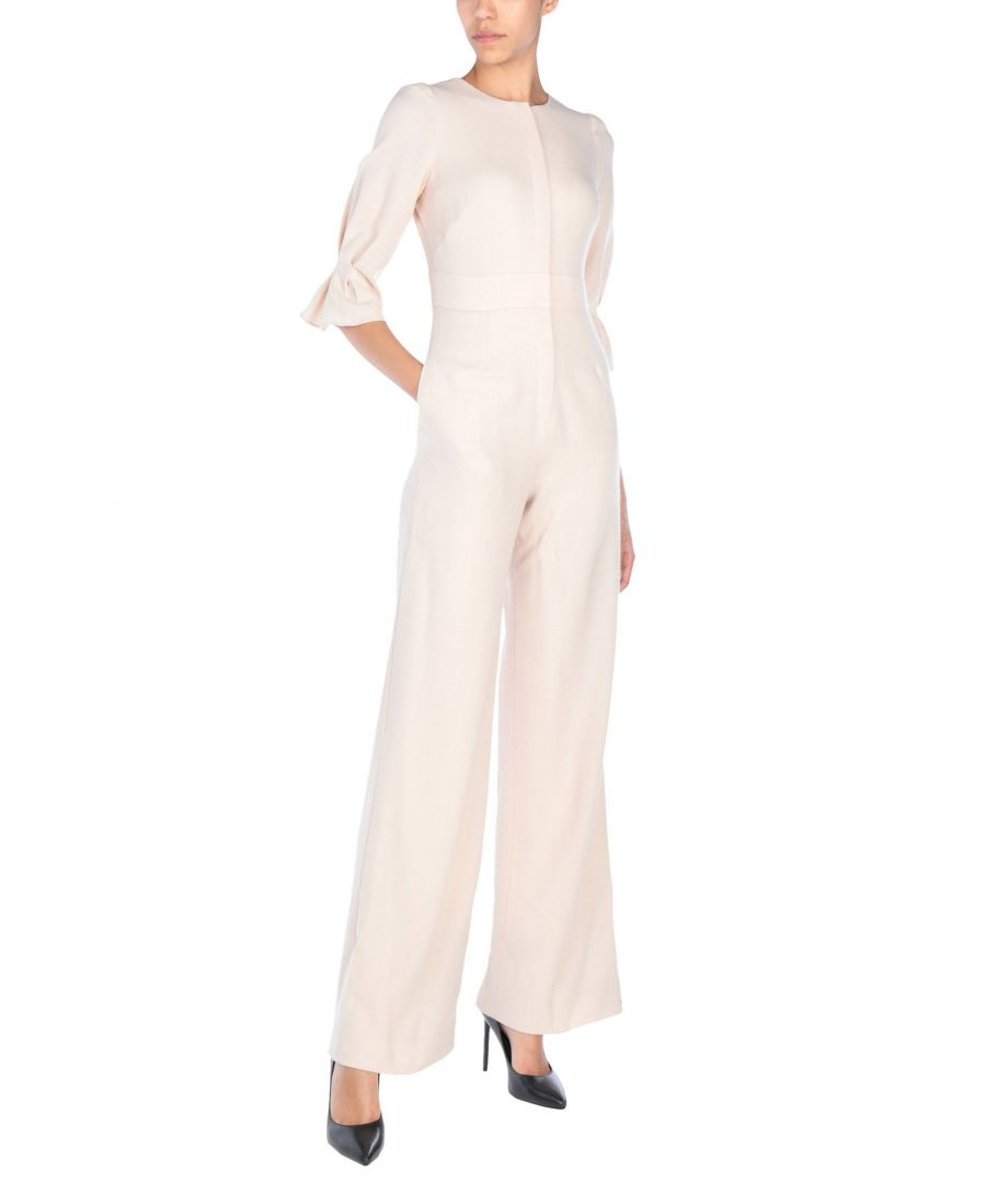 Image for Goat Light Pink Wool Jumpsuit