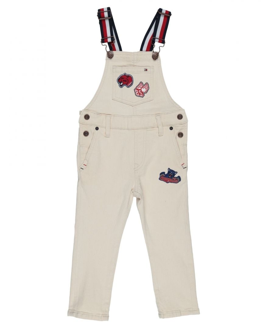 Image for DUNGAREES Boy Tommy Hilfiger Ivory Cotton