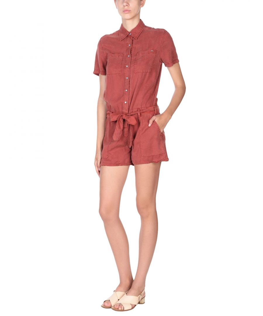 Image for Pepe Jeans Rust Belted Playsuit