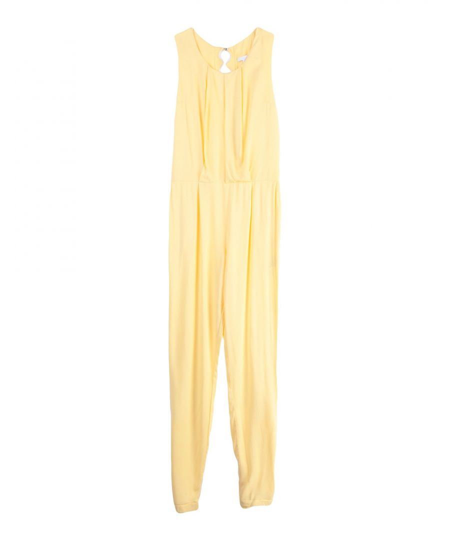 Image for DUNGAREES Girl Chloé Yellow Viscose