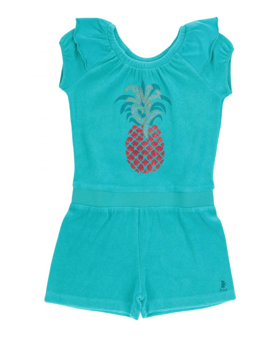Image for DUNGAREES Girl Juicy Couture Turquoise Polyester