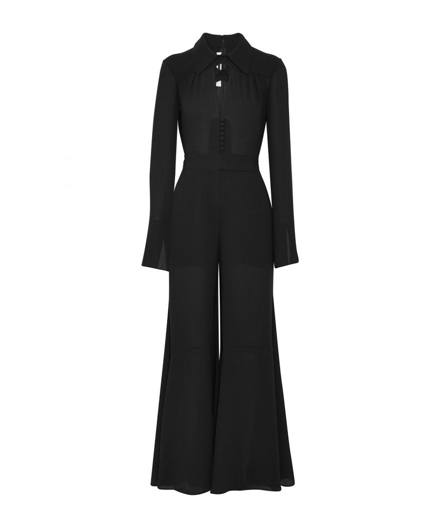 Image for McQ Alexander McQueen Black Belted Jumpsuit