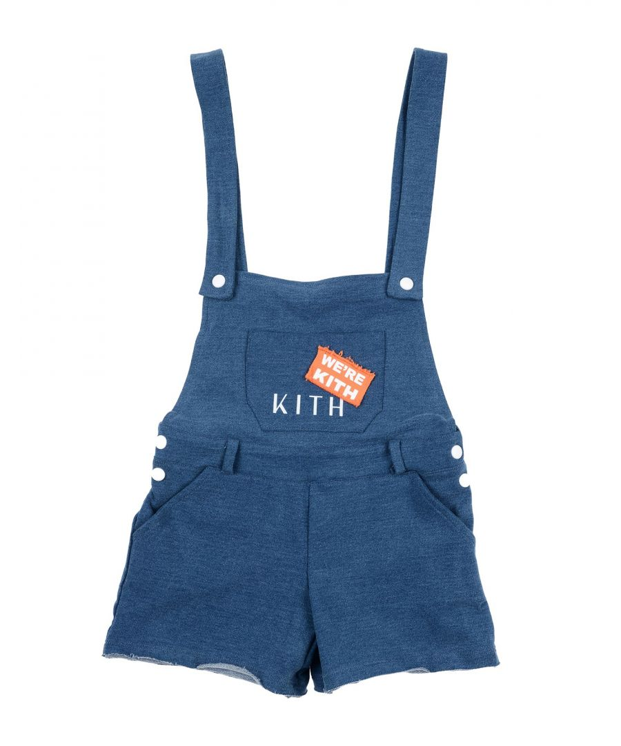 Image for DUNGAREES Girl Kith Blue Cotton