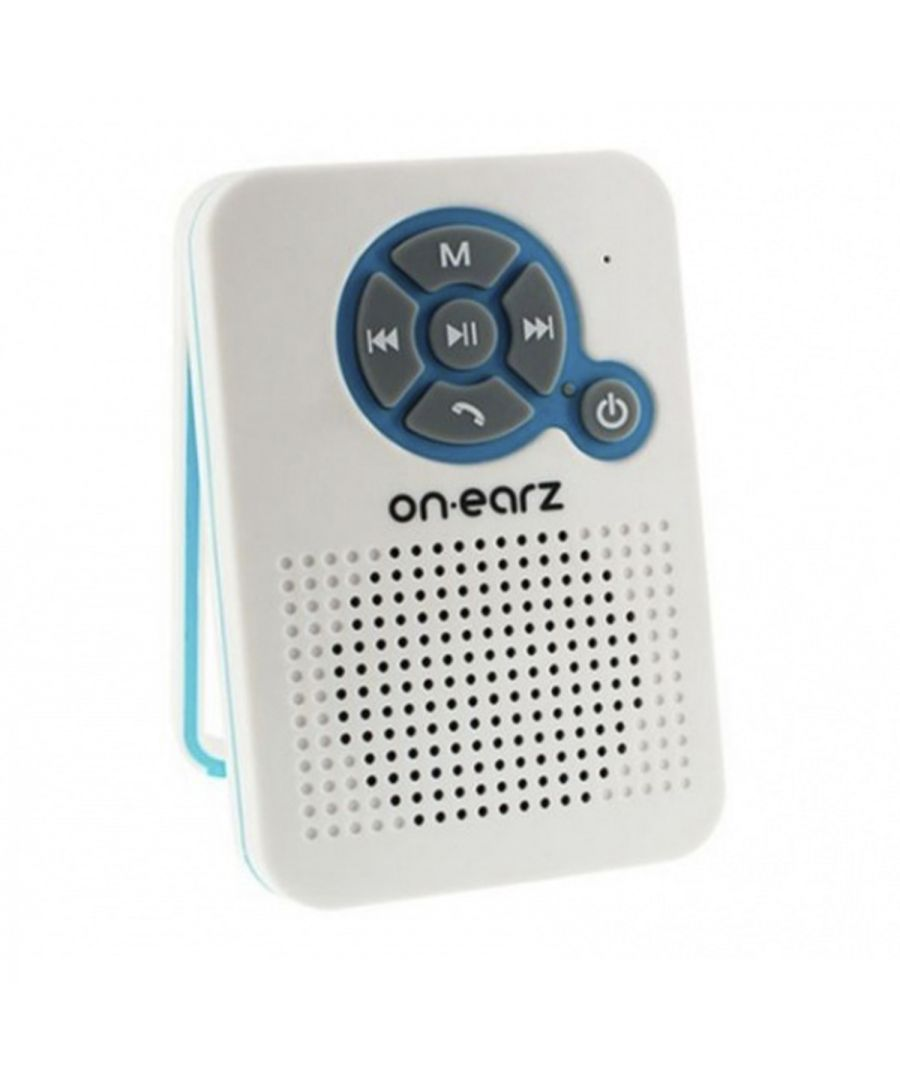 Image for On Earz Wireless Bluetooth Bathroom Speaker with Integrated Radio