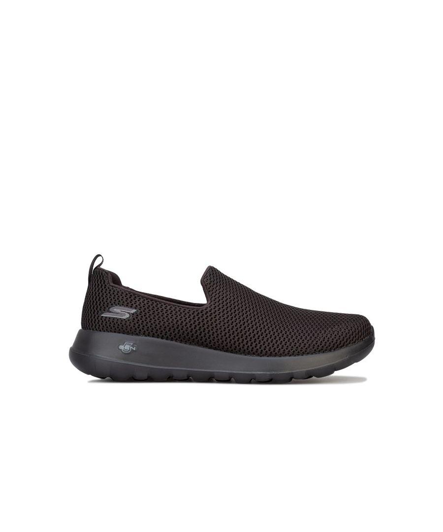Image for Men's Skechers Go Walk Max Slip On Trainers in Black