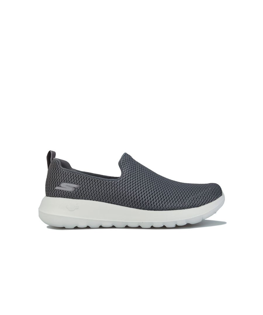Image for Men's Skechers Go Walk Max Slip On Trainers In Charcoal