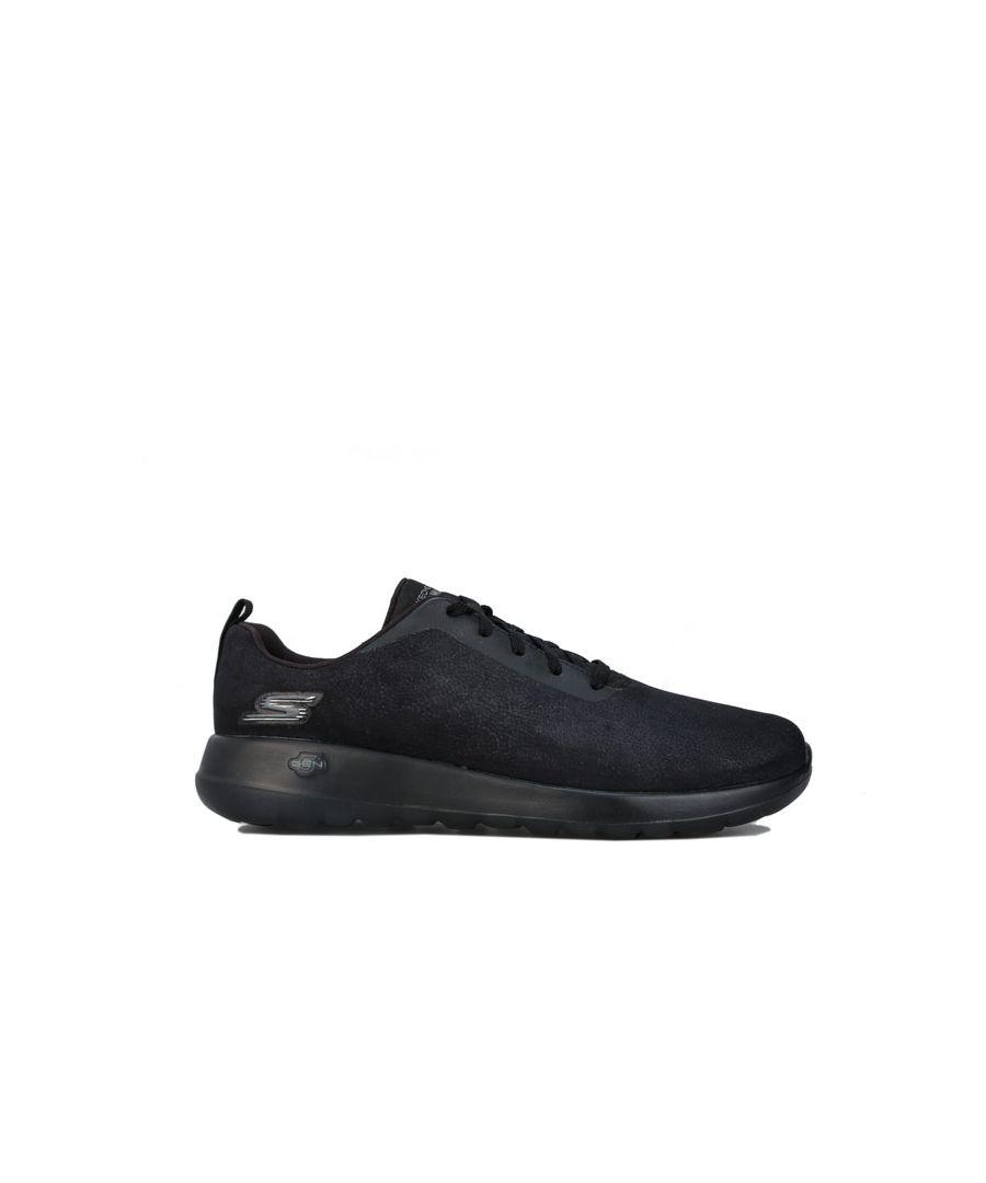 Image for Men's Skechers Go Walk Max Impact Trainers in Black