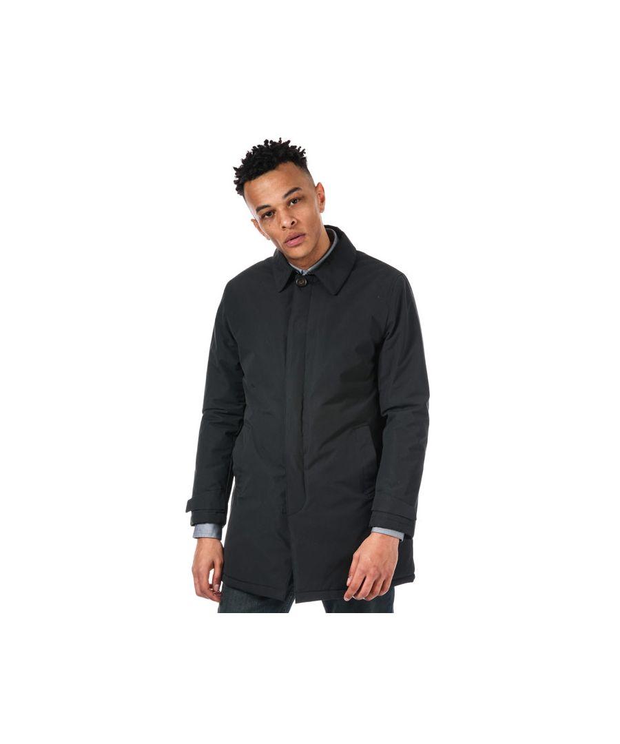 Image for Men's Original Penguin Padded Mac Jacket in Black