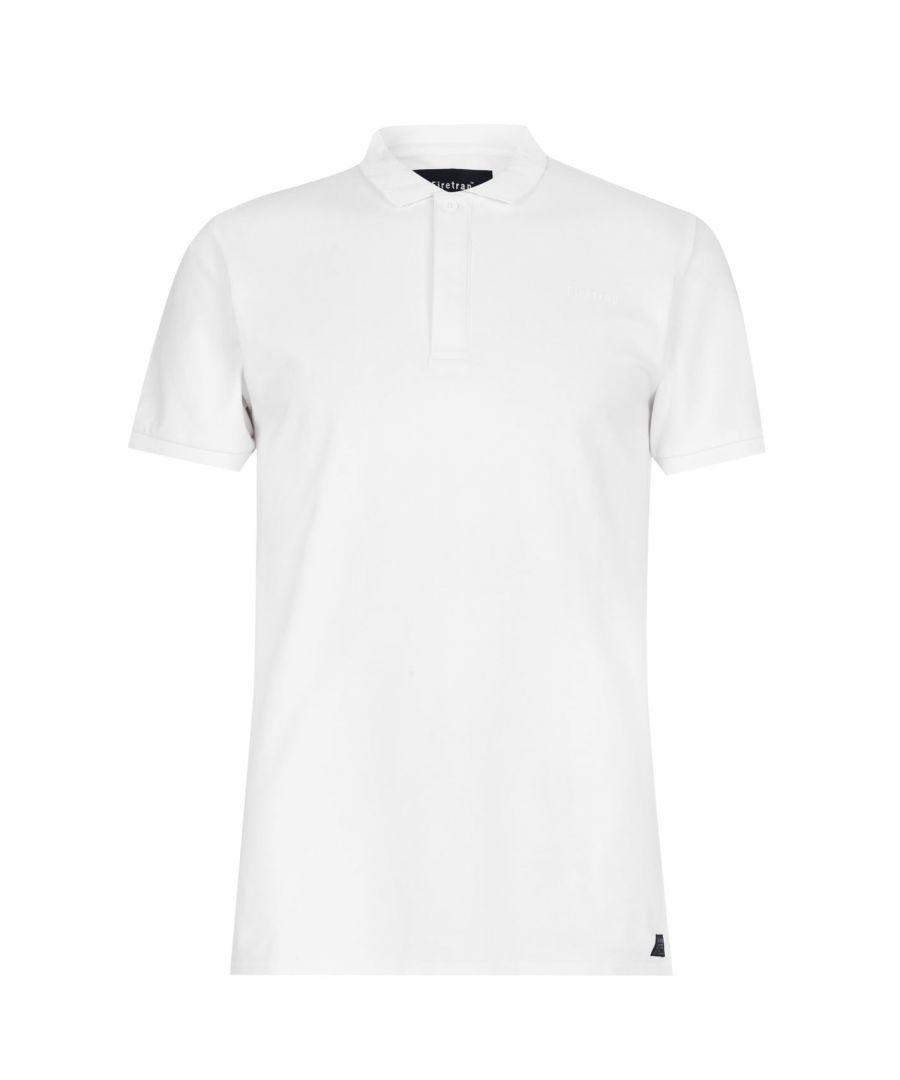 Image for Firetrap Mens Beam Polo Shirt Short Sleeves Cotton Blend Casual T-Shirt Tee Top