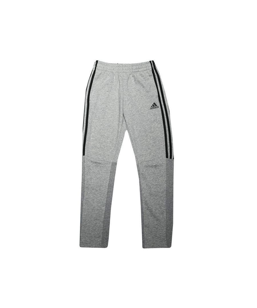 Image for Boy's adidas Junior Must Haves Tiro Joggers Grey black 9-10in Grey black