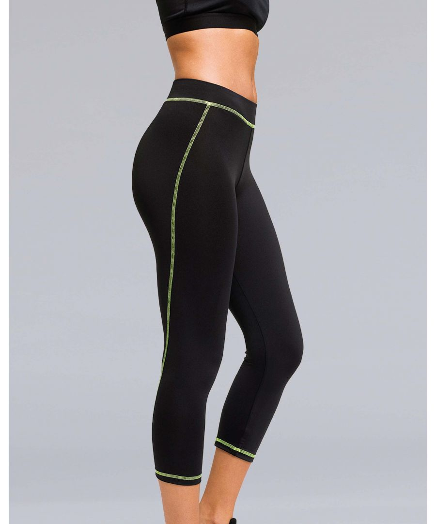 Image for Capri Performance Leggings in Black