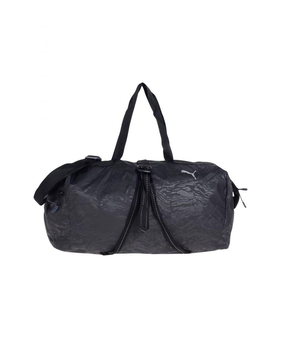 Image for Puma Black Techno Fabric Gym Bag