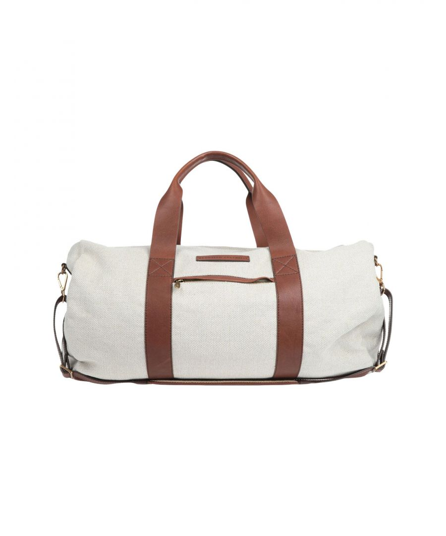 Image for LUGGAGE Woman Brunello Cucinelli Light grey Linen