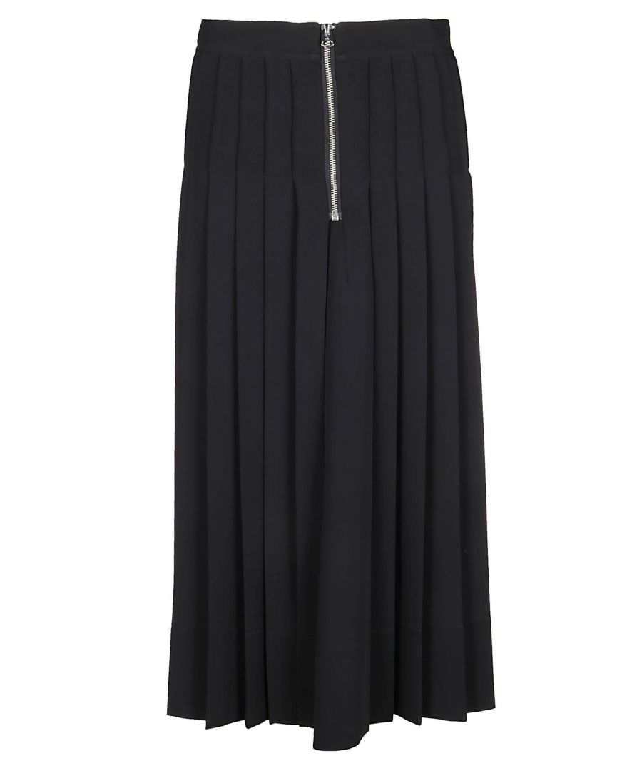 Image for CALVIN KLEIN WOMEN'S K20K201588 BLACK POLYESTER SKIRT
