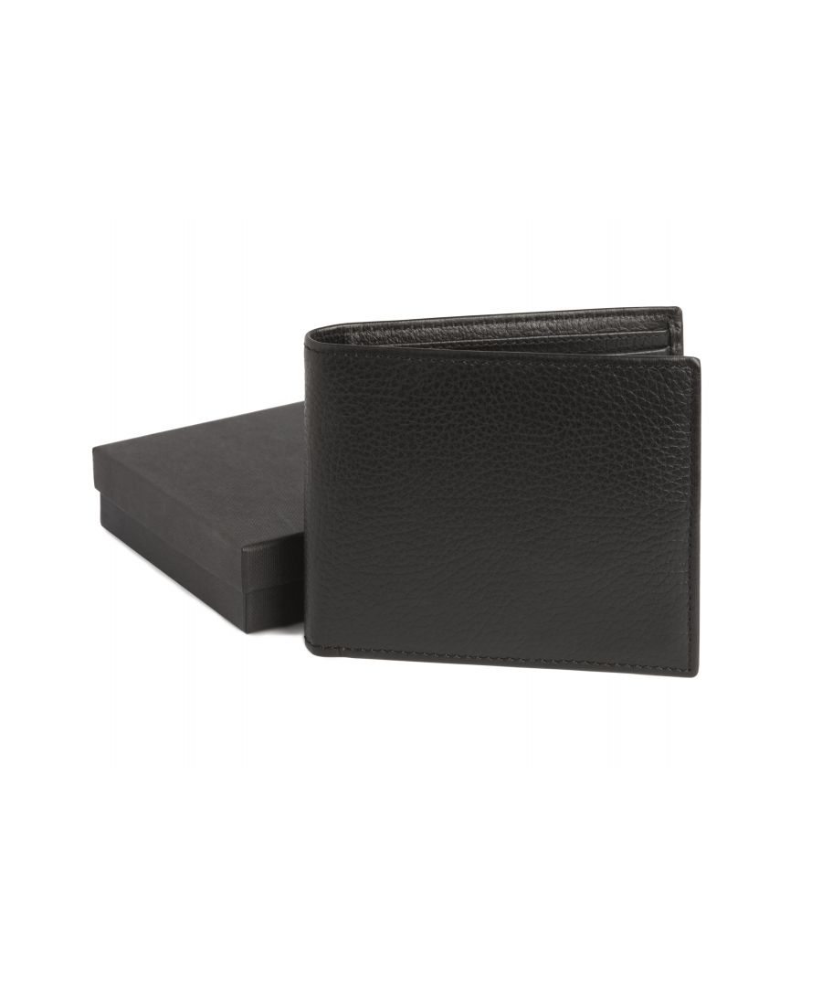 Image for West End Black Leather Wallet
