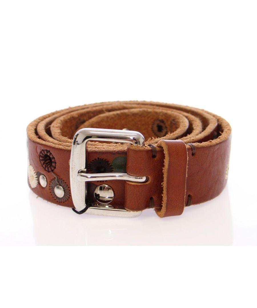 Image for Dolce & Gabbana Multicolor Leather Logo Belt