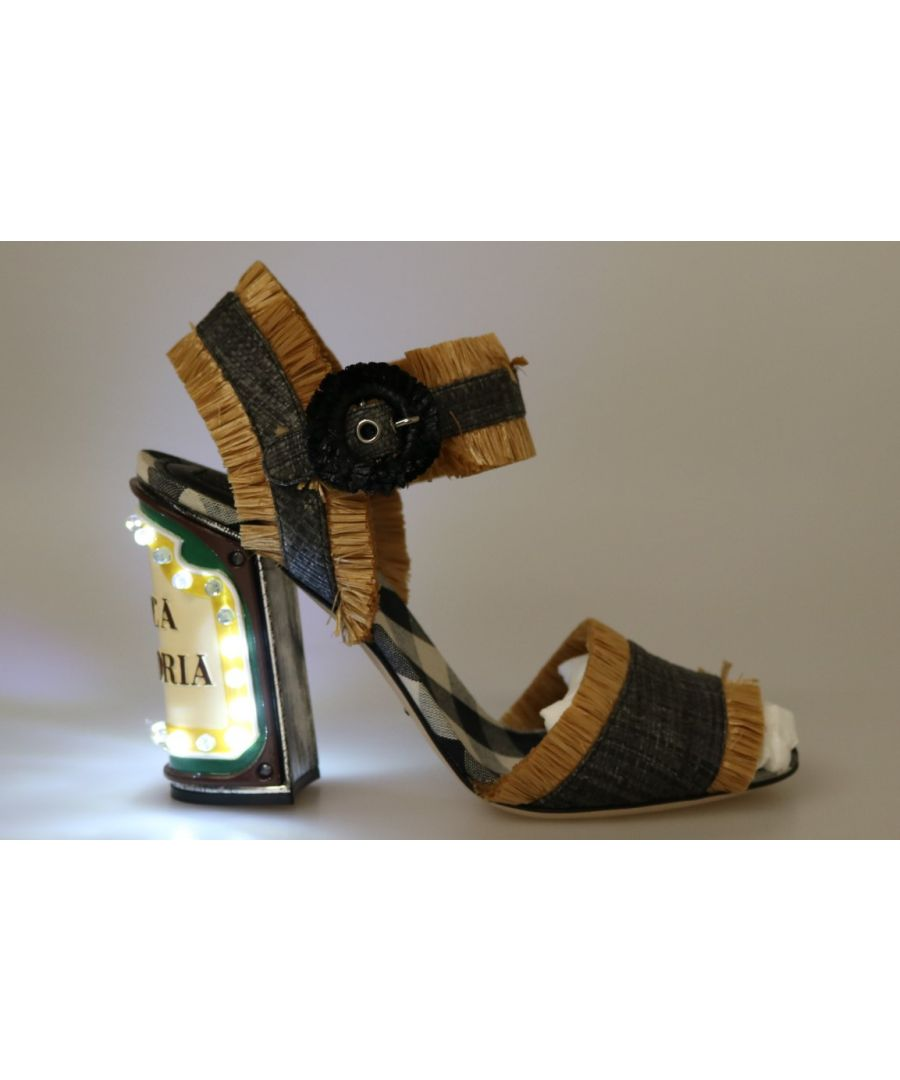 Image for Dolce & Gabbana LED Lights Antica Trattoria Sandals