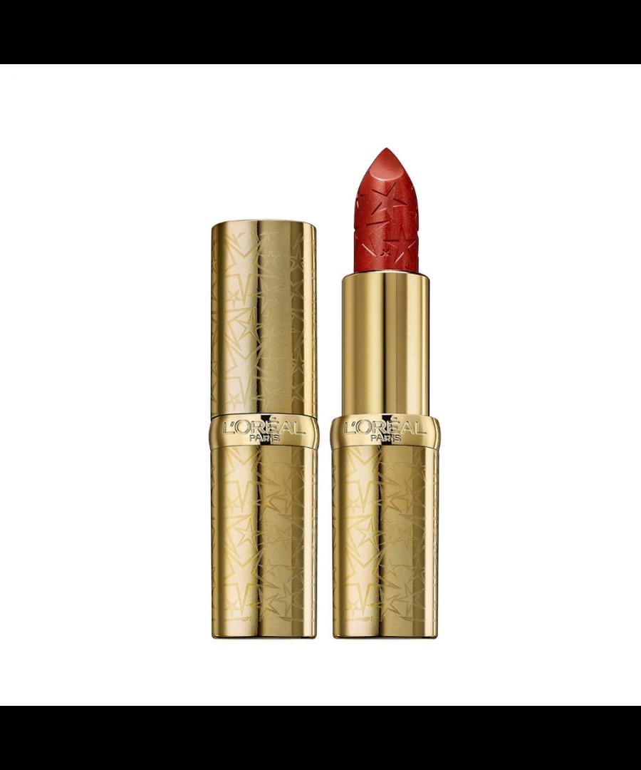 Image for L'Oreal Colour Riche Glitter Fever Lipstick - 393 Paris Burning
