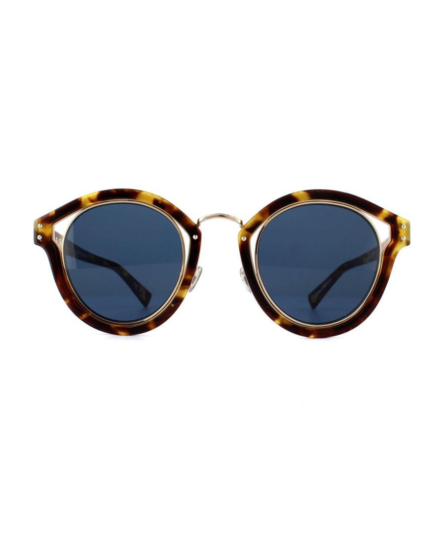 Image for Dior Sunglasses Dior Elliptic TZ8 KU Havana Blue