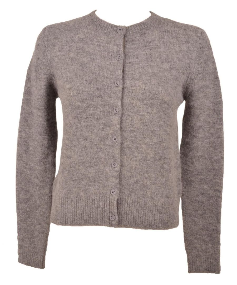 Image for TWENTY EASY BY KAOS WOMEN'S FP012GREY GREY POLYAMIDE CARDIGAN