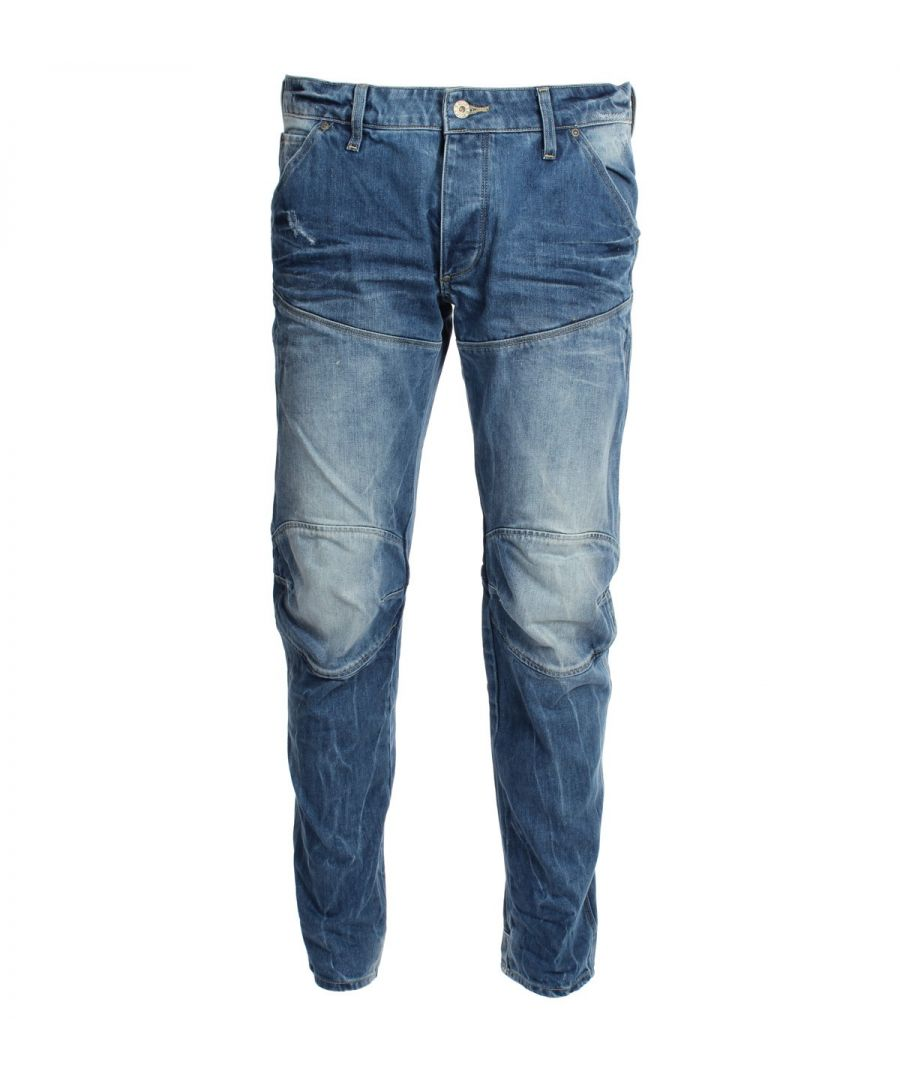 Image for G-Star 3301 Loose DK Aged Hadron Denim Jeans