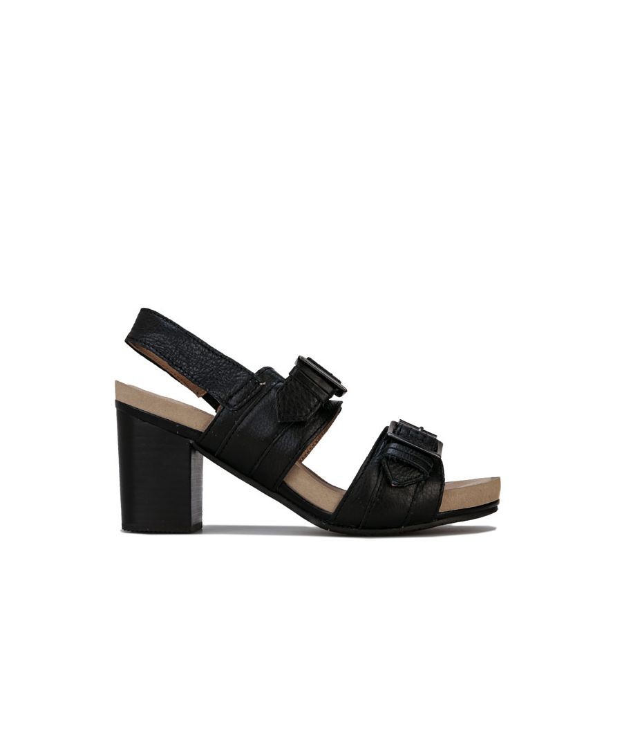 Image for Women's Hush Puppies Leonie Strap Sandal Shoe in Black