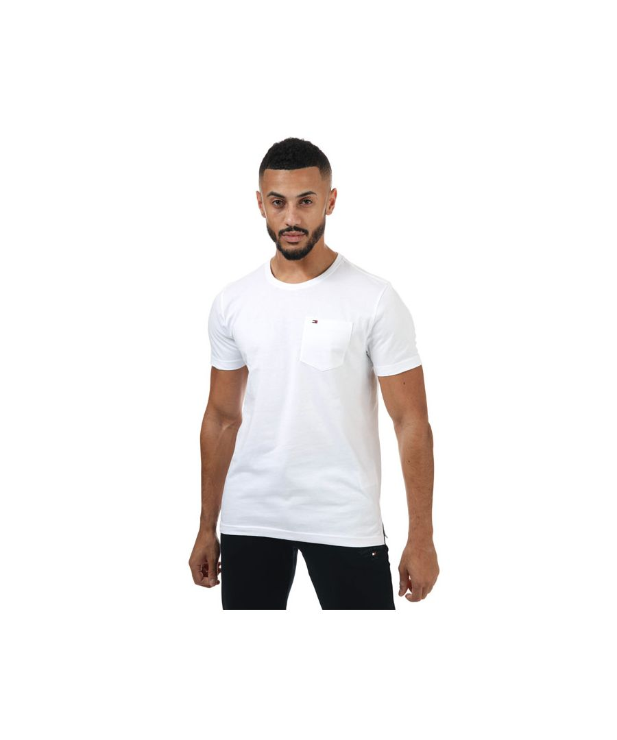 Image for Men's Tommy Hilfiger Classic Pocket T-Shirt in White