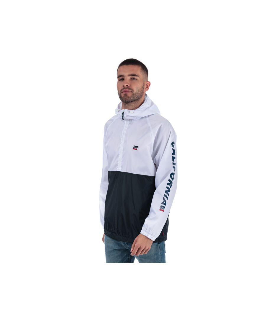 Image for Men's Levis Packable Sport Anorak in White