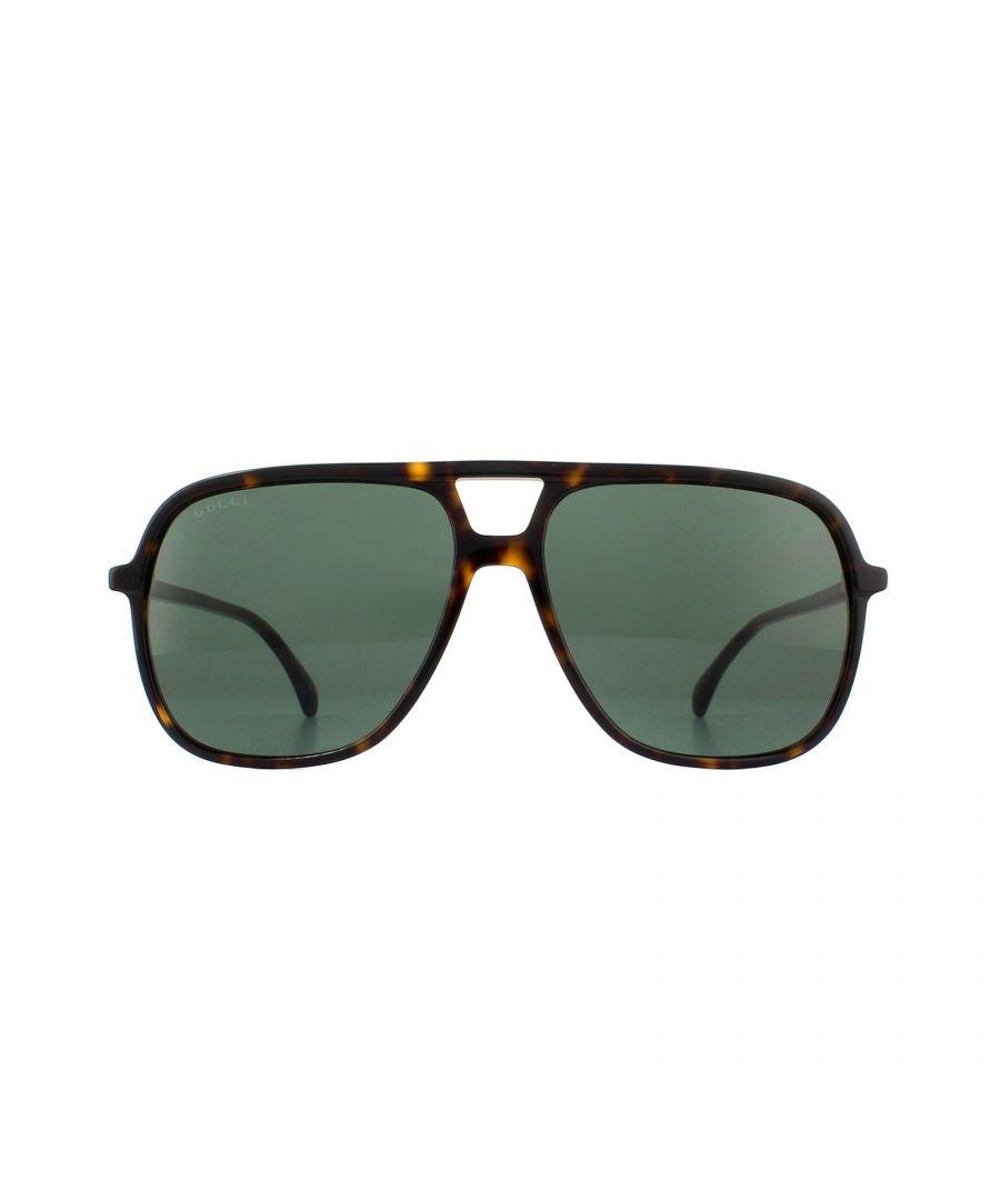 Image for Gucci Sunglasses GG0545S 002 Havana Green