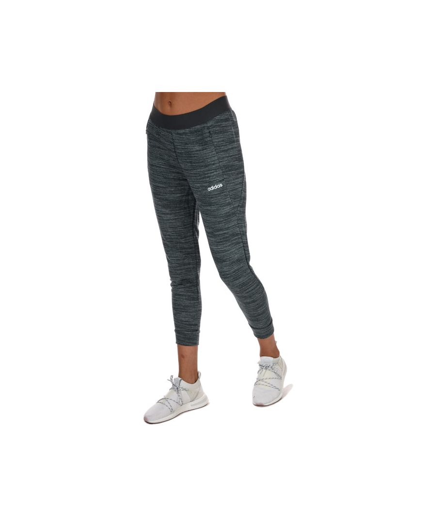 Image for Women's adidas Essentials 7/8 French Terry Joggers In Charcoal Marl