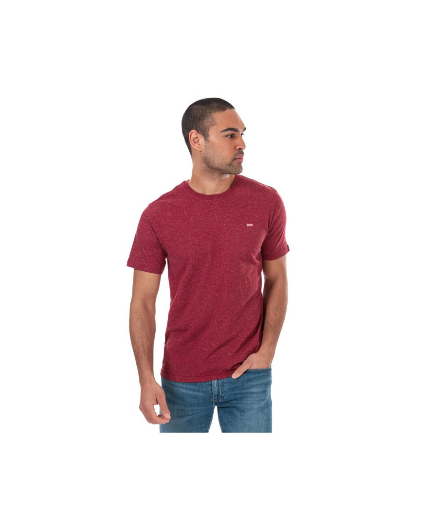 Image for Men's Levis Classic House Mark T-Shirts in Red