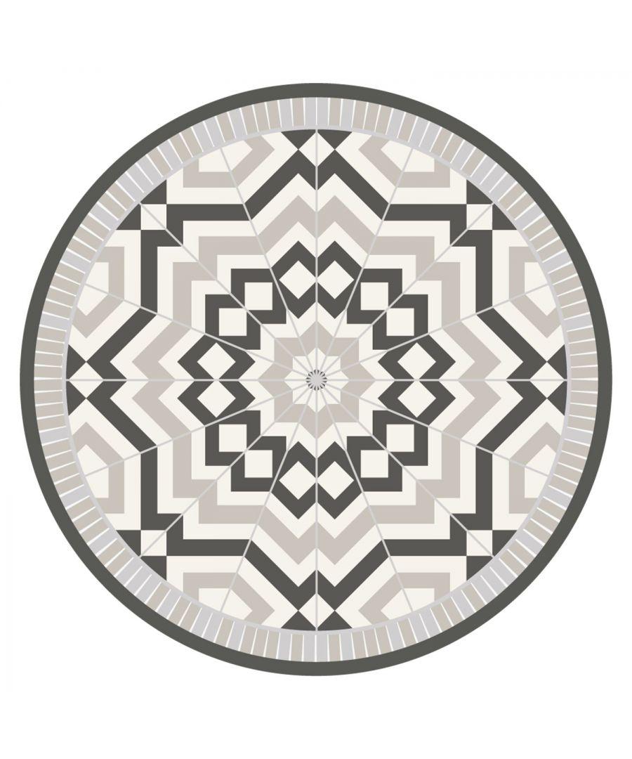 Image for WFM6208 - Moraccan Tile Design Mat 99 cm Diameter