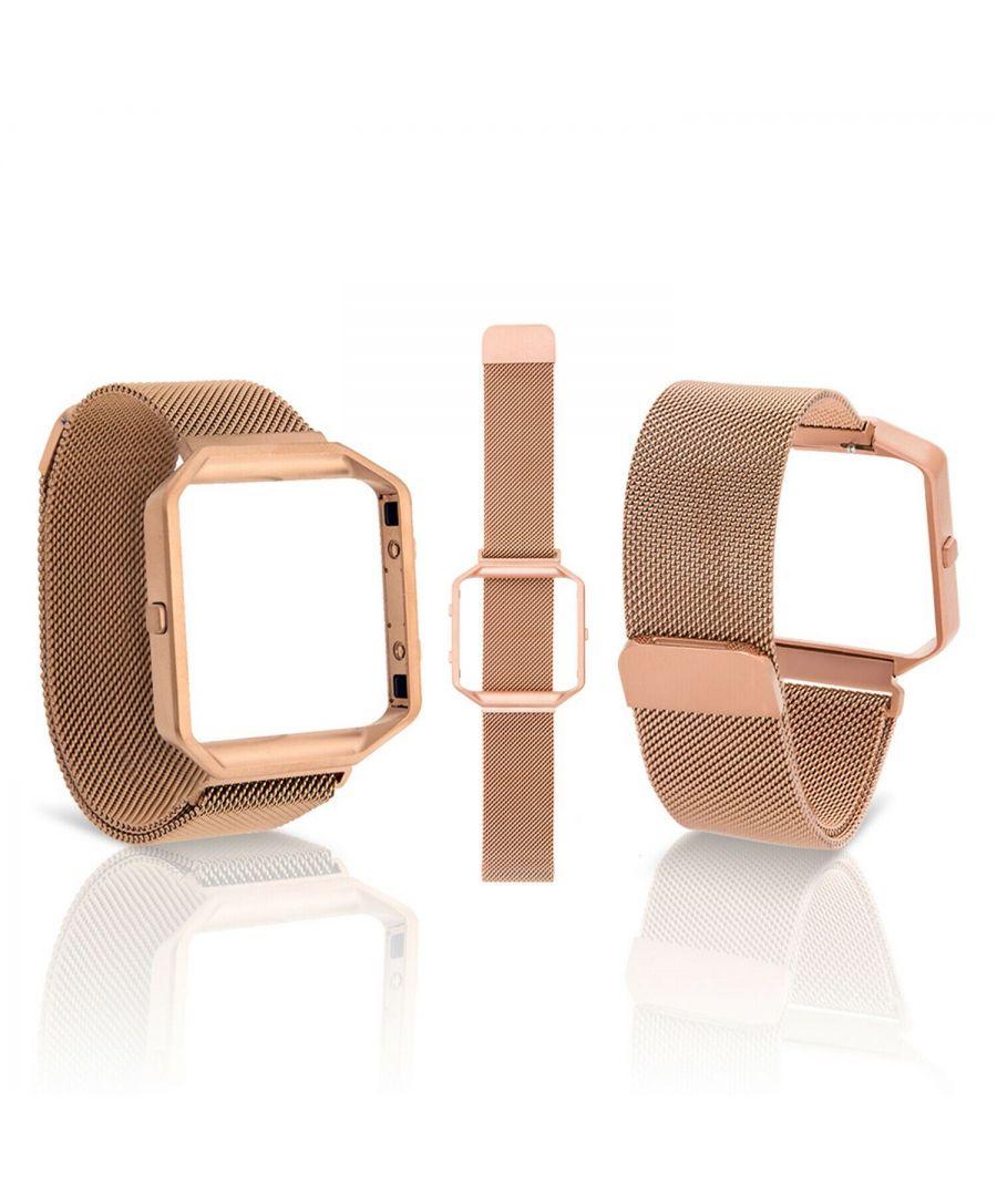 Image for Aquarius Fitbit Blaze straps Rose Gold