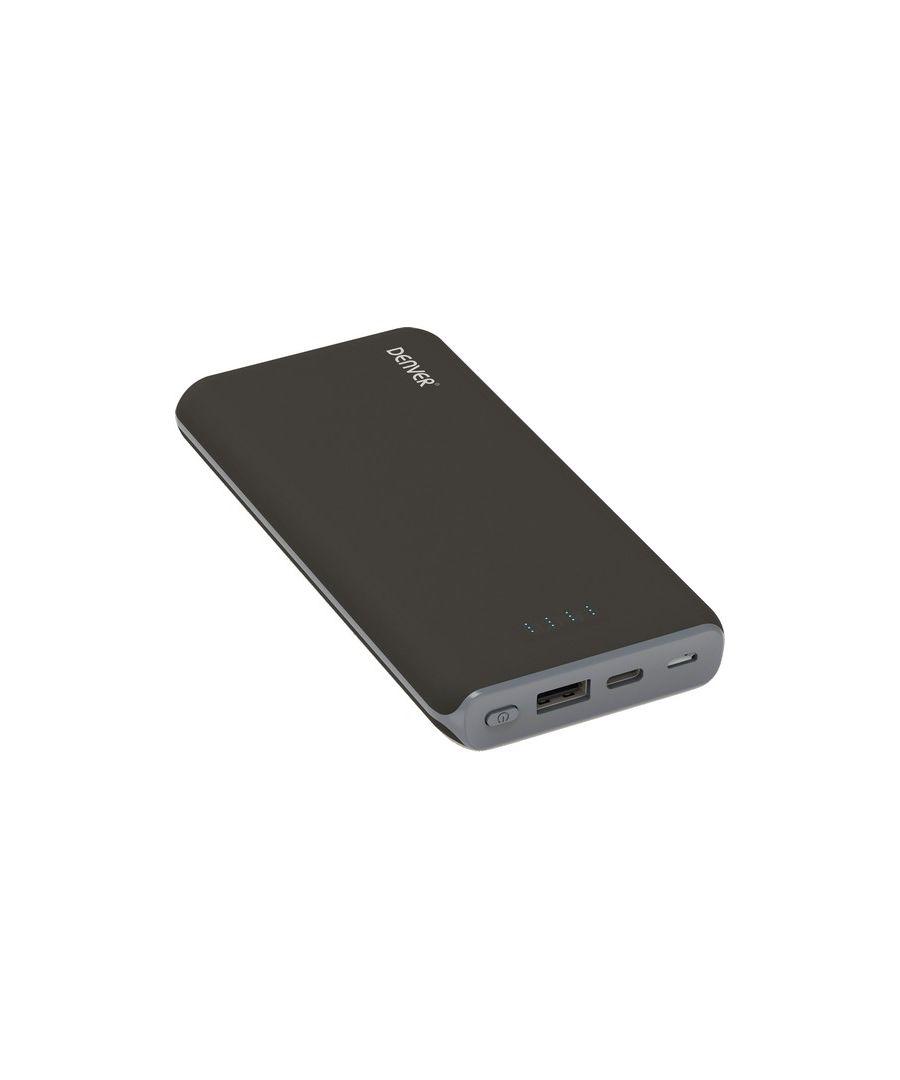 Image for Power Bank Denver Electronics PBQ-10001 10000 mAh Black