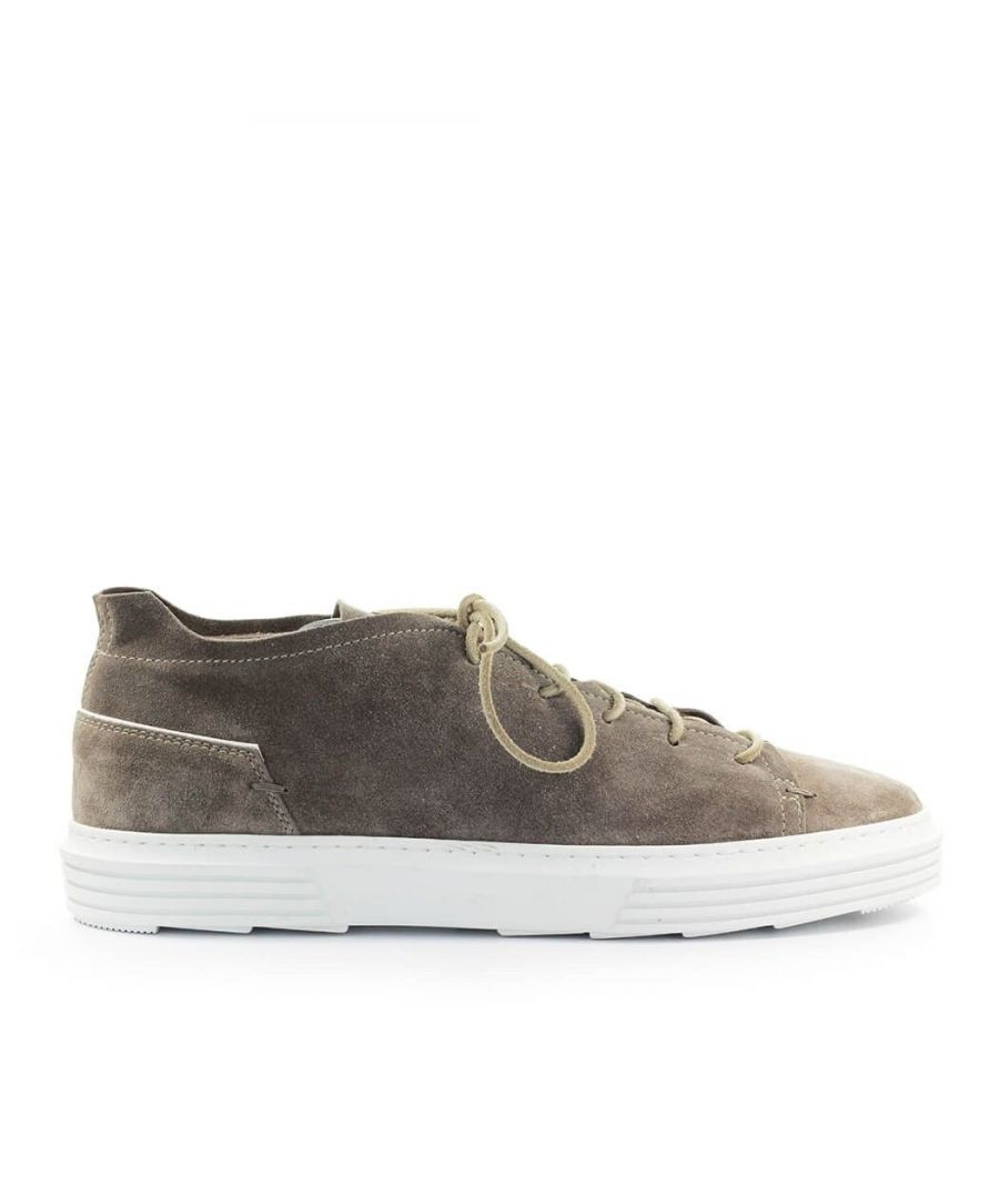 Image for MOMA MEN'S 4AS054TO BROWN LEATHER SNEAKERS
