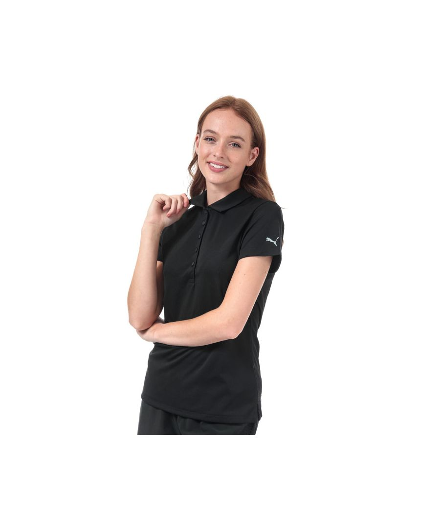 Image for Women's Puma Pounce Polo Shirt in Black