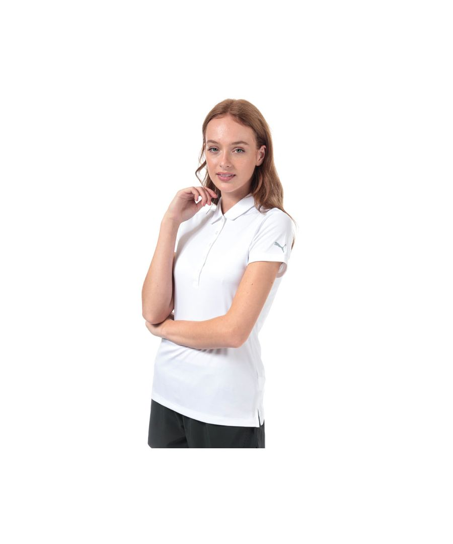 Image for Women's Puma Pounce Polo Shirt in White