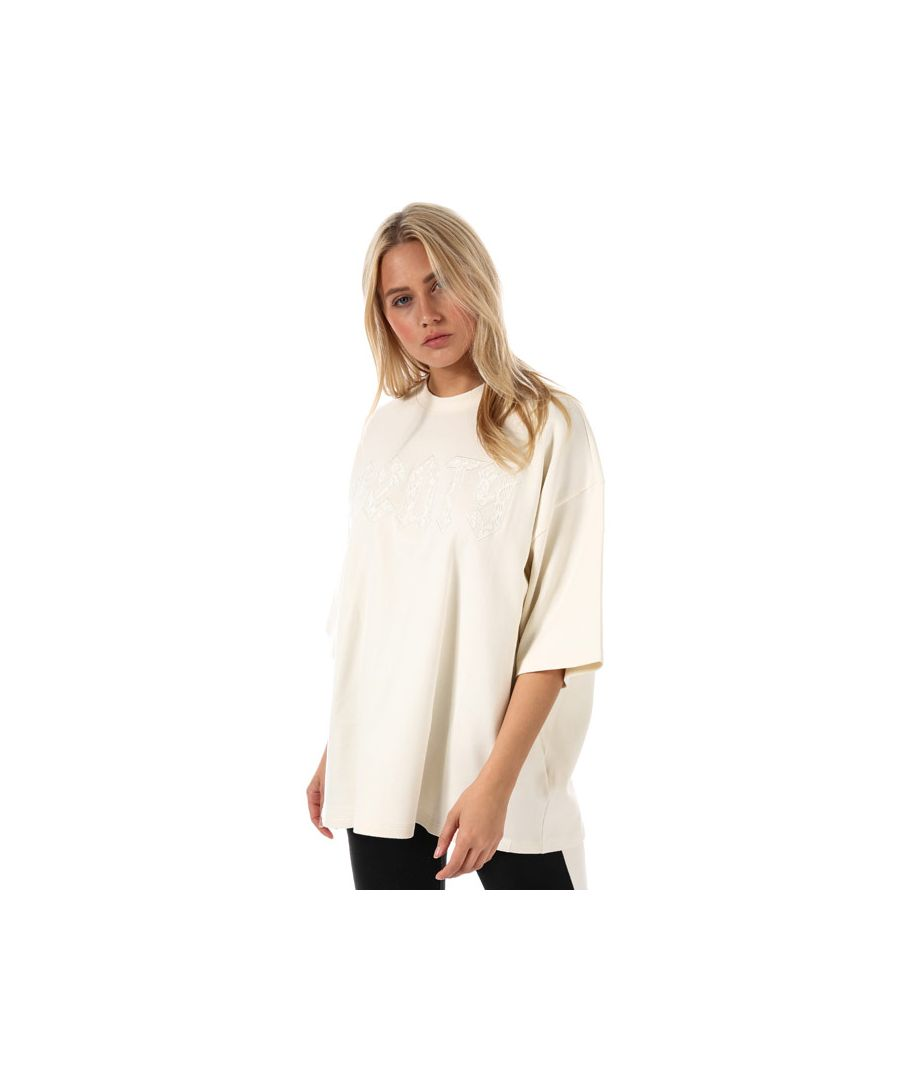 Image for Women's Puma Fenty Oversized Crew Neck T-Shirt in White