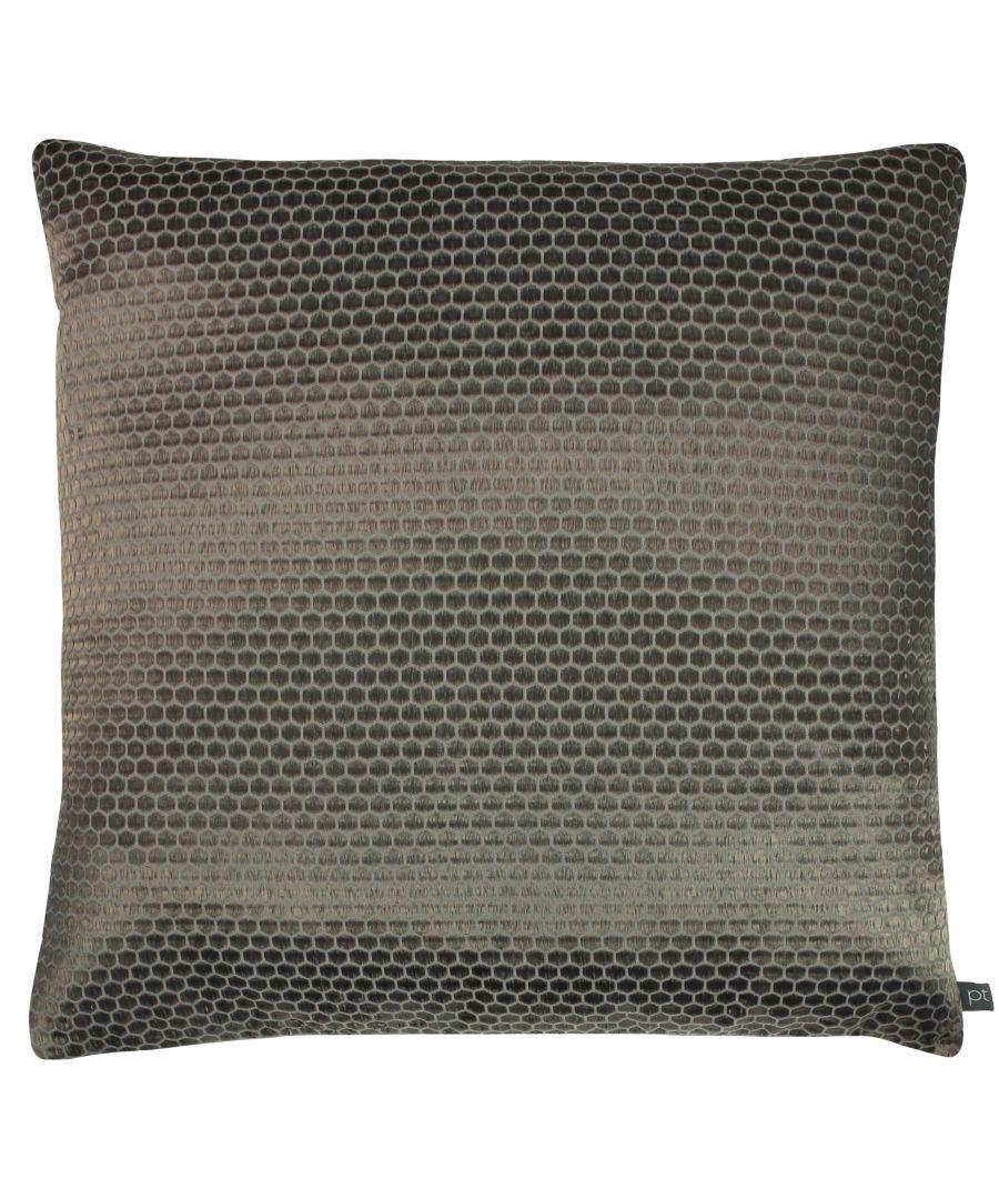 Image for Prestigious Textiles Emboss Polyester Filled Cushion, Polyester, Cotton, Moleskin