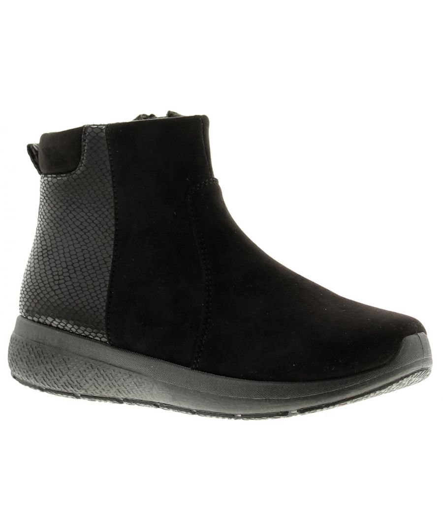 Image for Strollers Aspen Women's Ankle Boots in Black