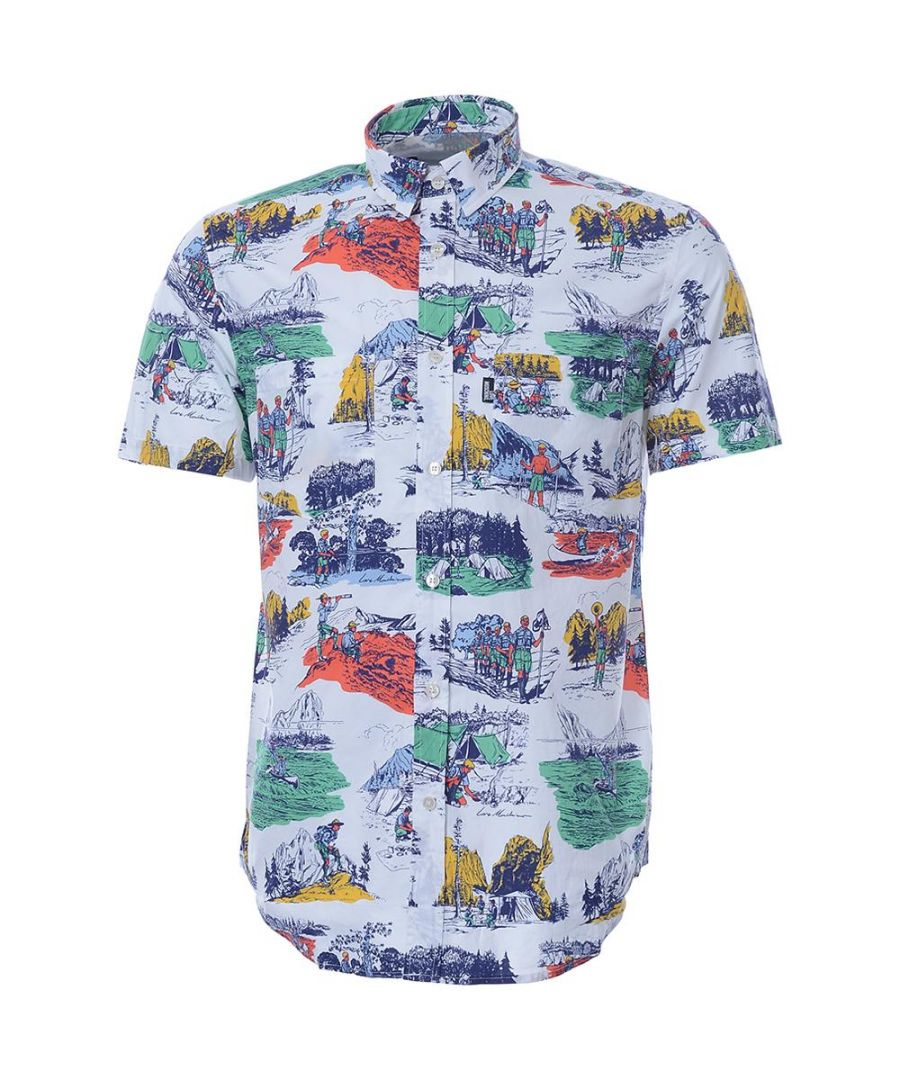 Image for Love Moschino Mens Shirt in Multicoloured