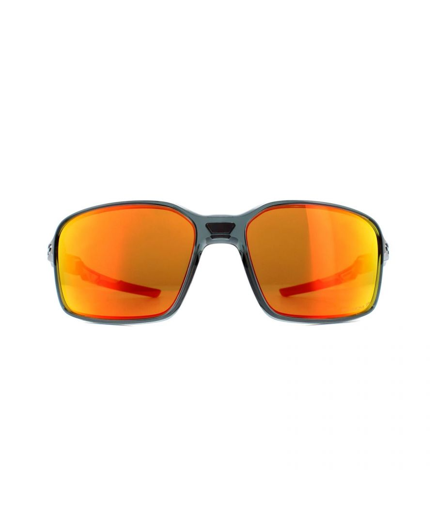 Image for Oakley Sunglasses Siphon OO9429-03 Crystal Black Prizm Ruby Polarized